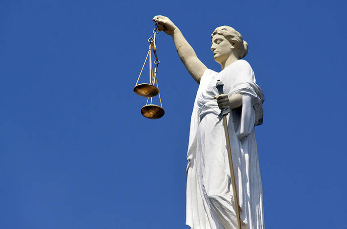 WordPress Lady justice