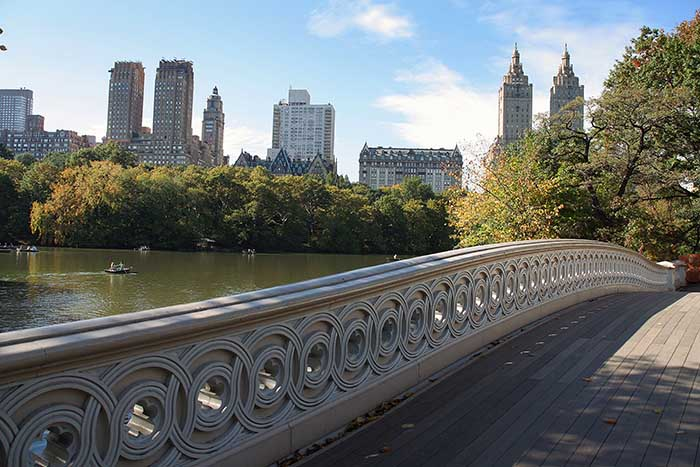 WordPress Bow bridge in Central park Manhattan, New York