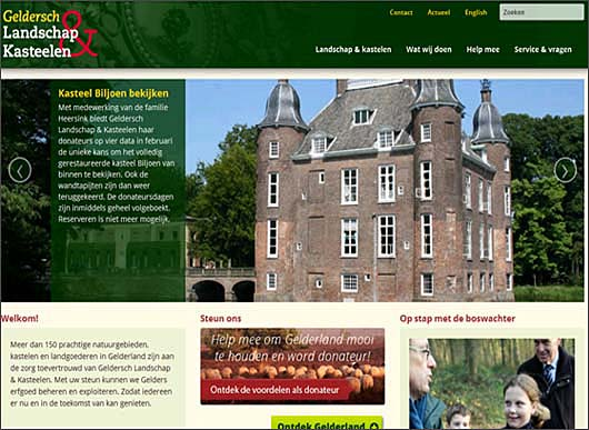 website Geldersch landschap