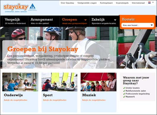 website Stayokay