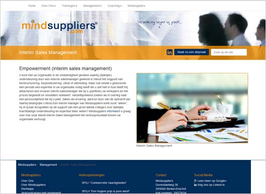 Website mindsuppliers